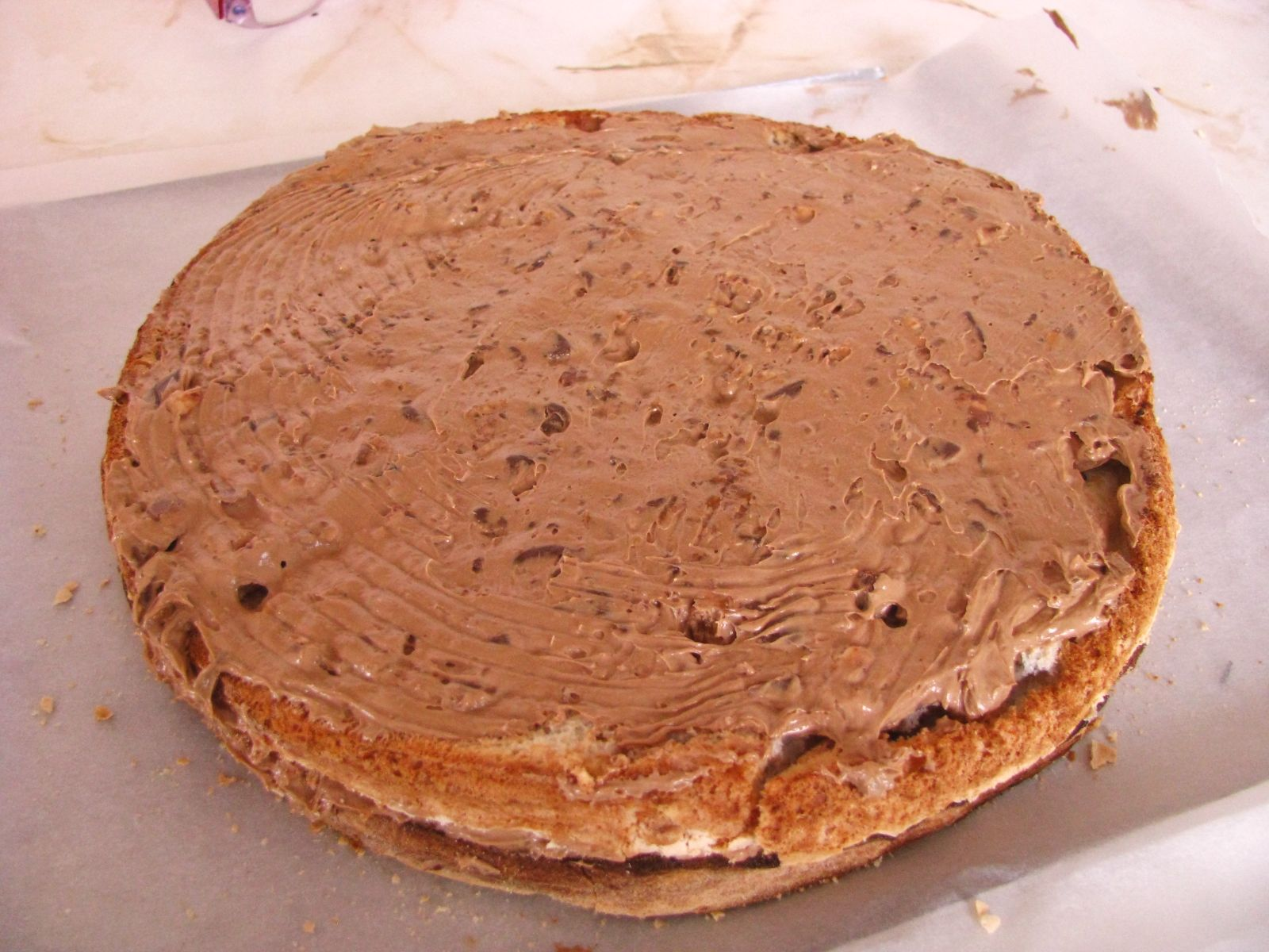 snickers naplnena torta
