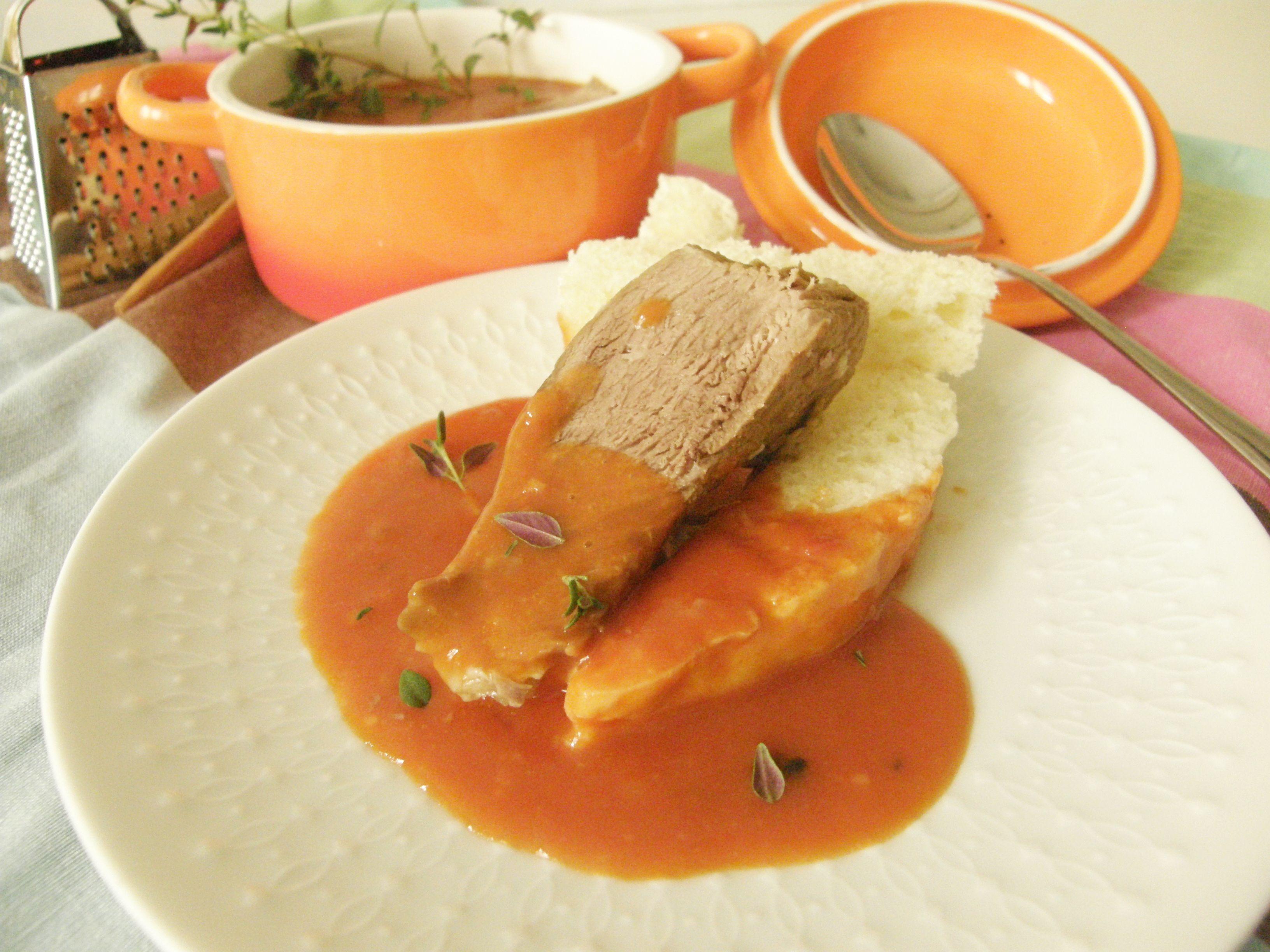 hovadzie v paradajkovej omacke hlavna