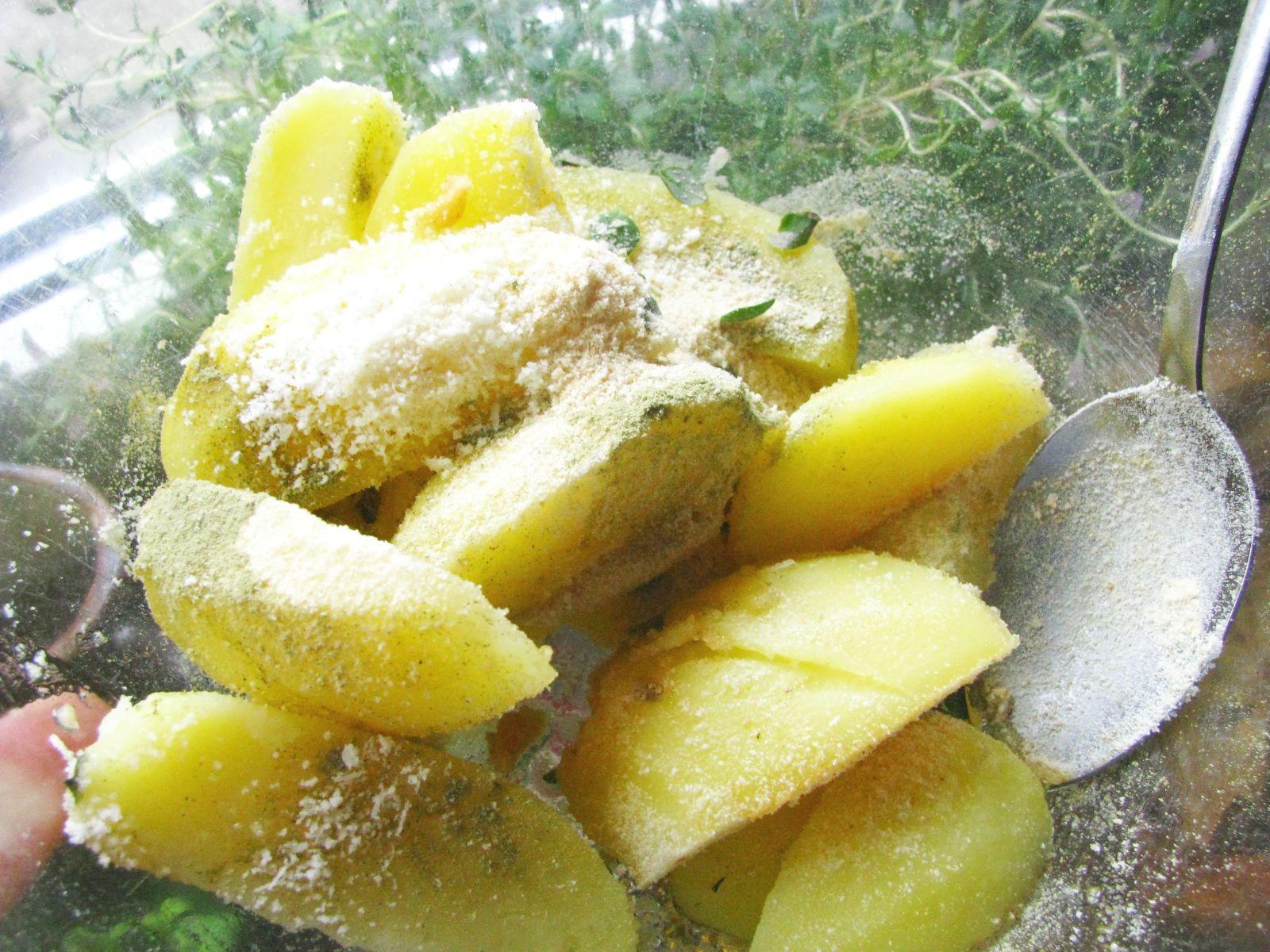 pieskove brambory v mise
