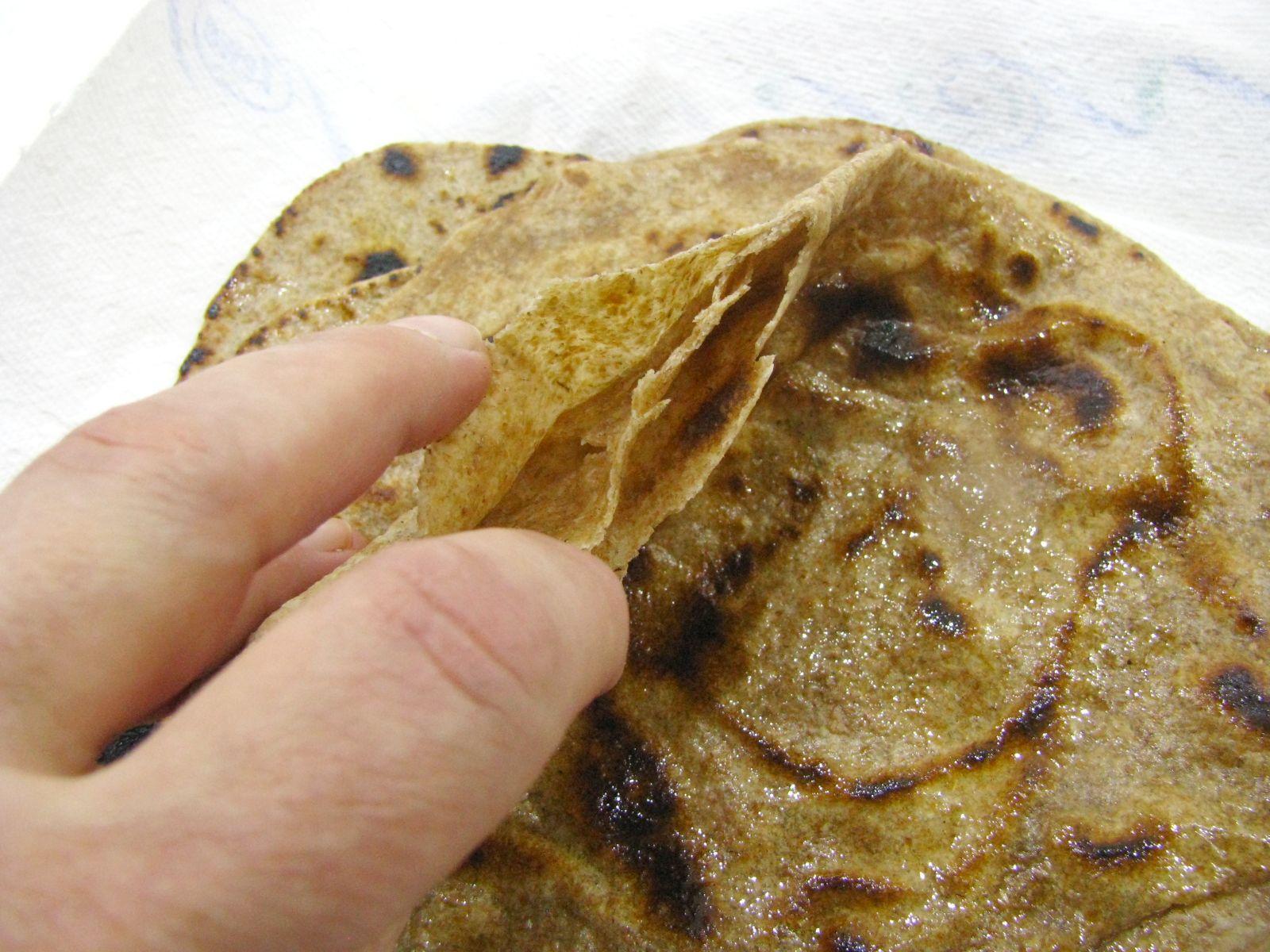 chapati listkovanie