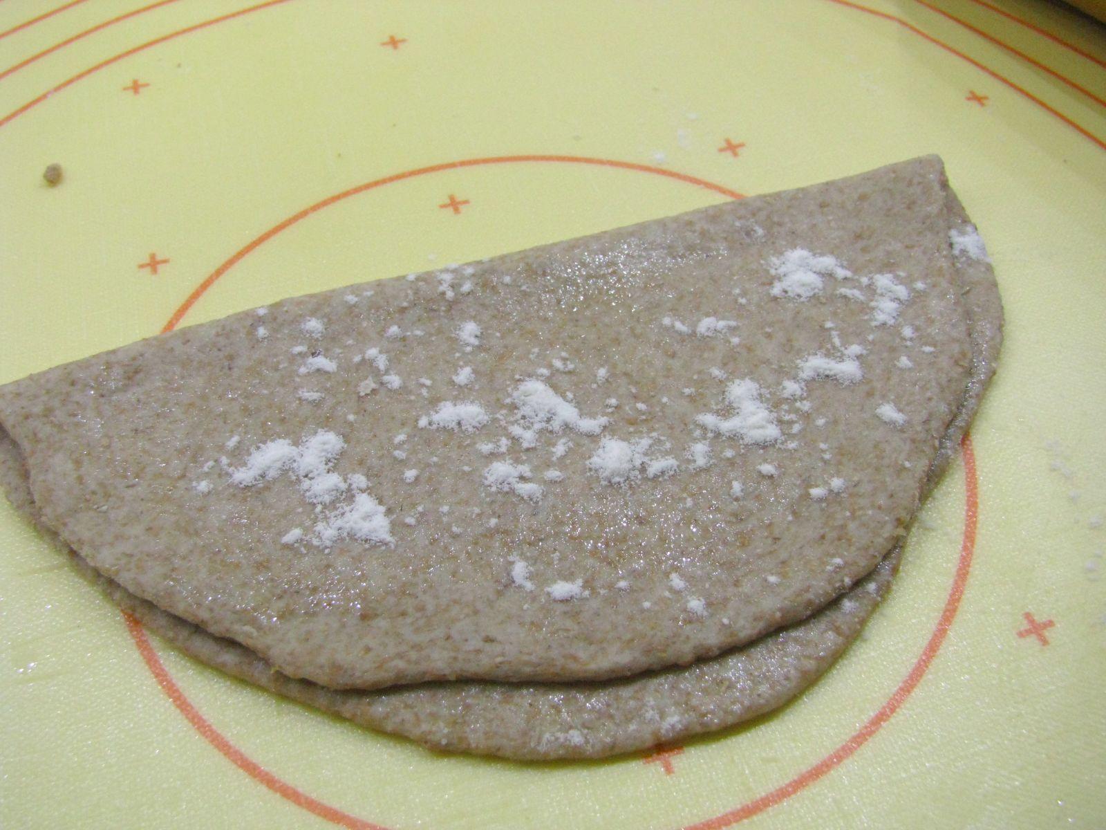 chapati prelozenie na polovicu