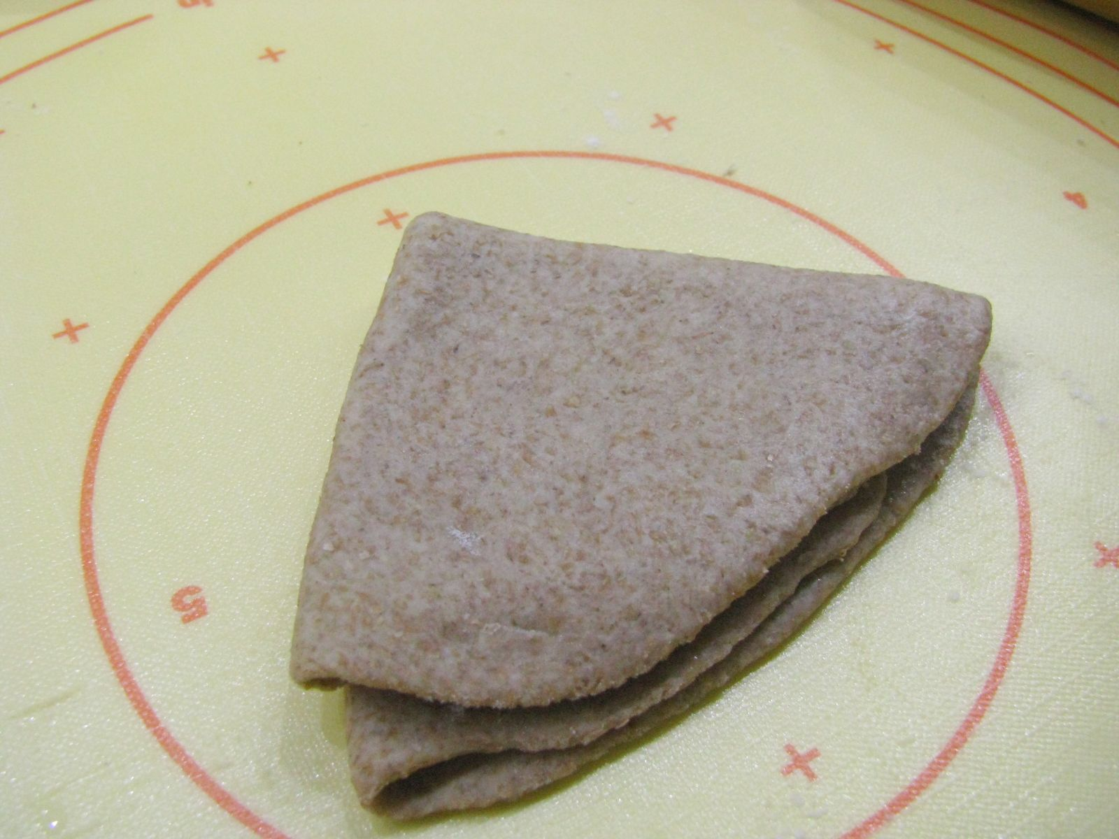 chapati prelozenie na trojuholnik