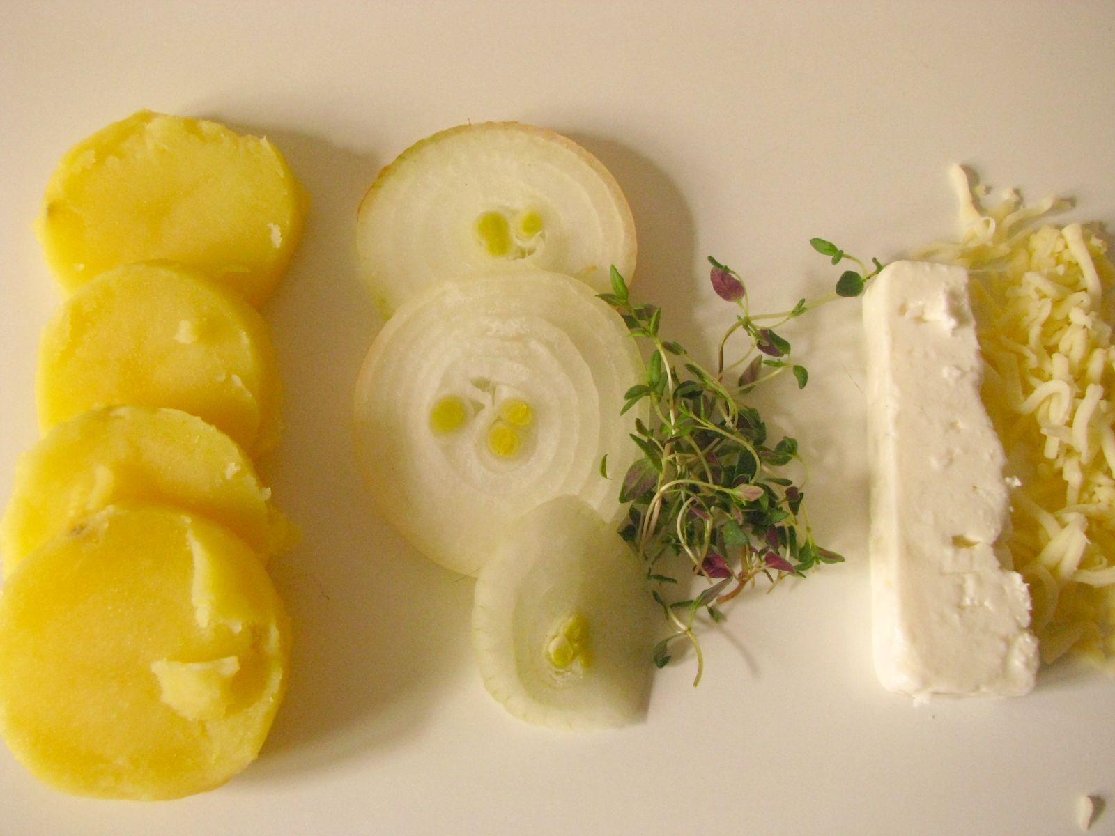 krumple suroviny