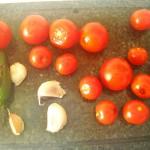 jednohubky paradajky