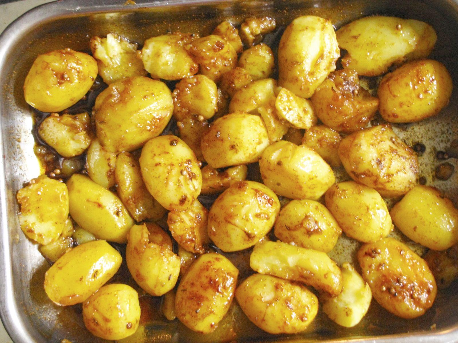 korenene zemiaky pred pecenim