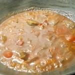 chilli po zaliati vodou