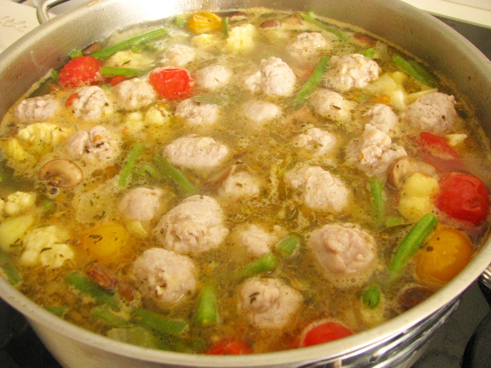 minestrone knedlicky