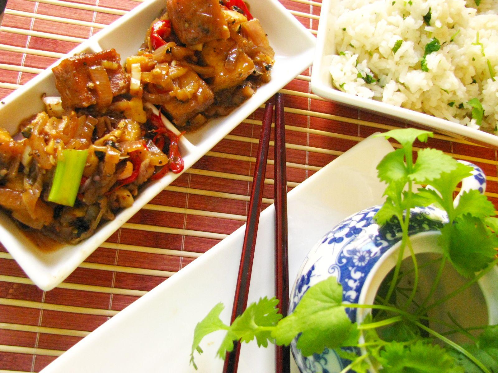 tofu koriander
