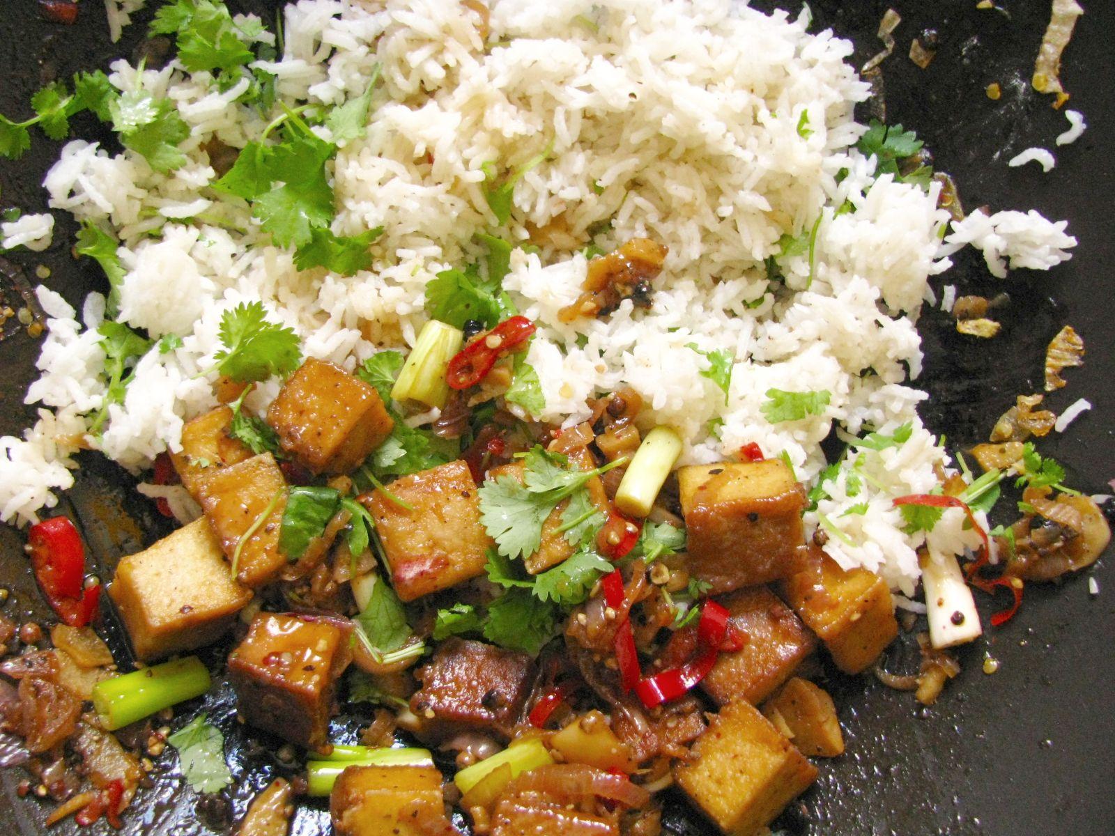 tofu s ryzou