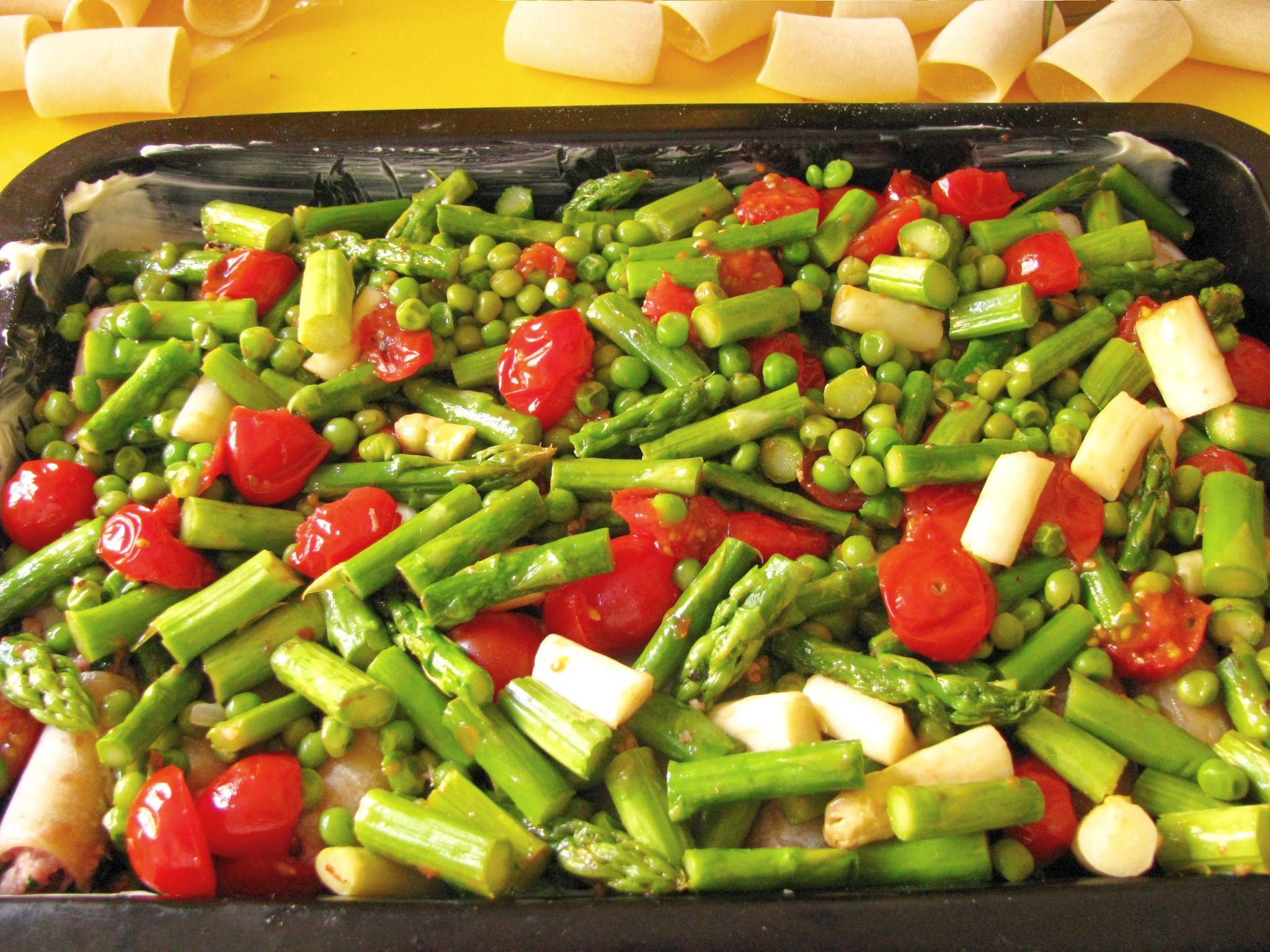 primavera zelenina