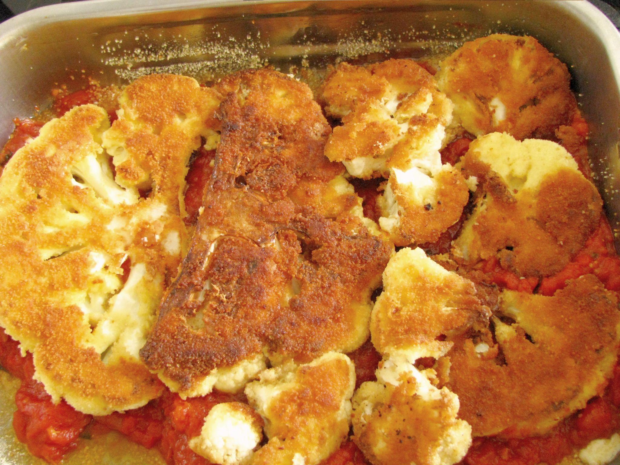 nakyp karfiol v pekaci